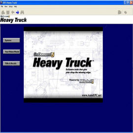 Mitchell On Demand5 Automotive Diagnostic Software Heavy Trucks Edition